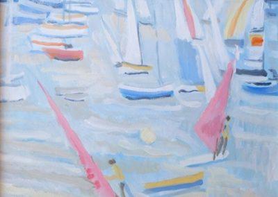 Les voiliers à Socoa