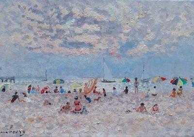 La plage, 1961