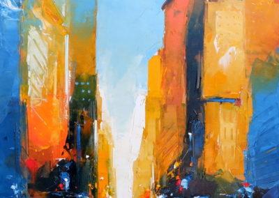 Castan-tableau-colore-new-york